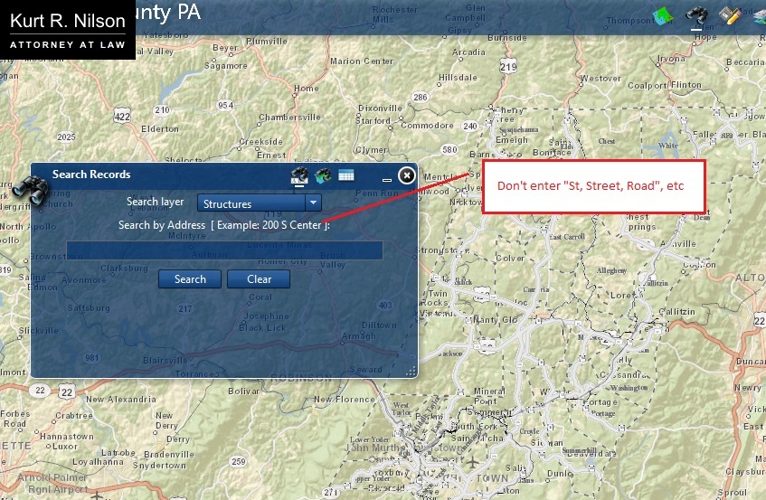 Cambria County Tax Maps on